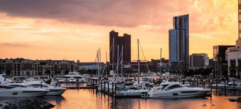 Baltimore marina